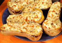 butternut farcies au jambon et boursin WW