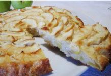 Gâteau aux pommes sans farine WW