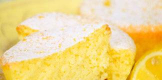 petits moelleux légers au citron WW, des petits gâteaux légers très moelleux et au goût intense, facile et simple à réaliser pour un goûter.