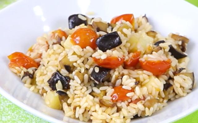 Salade Légère d'Aubergine et Parmesan WW