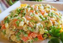 salade russe légère sans mayonnaise WW