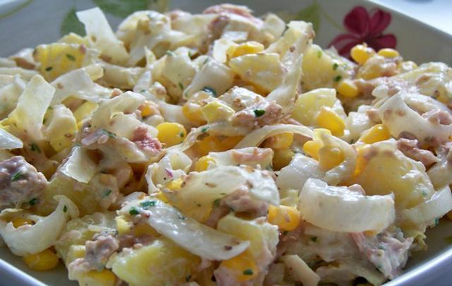 Salade d'Endives au Thon WW