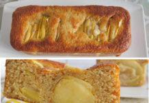 cake léger aux pommes à l'ancienne WW