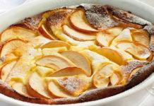 Clafoutis Léger aux Pommes WW