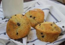 muffins légers aux pépites de chocolat WW