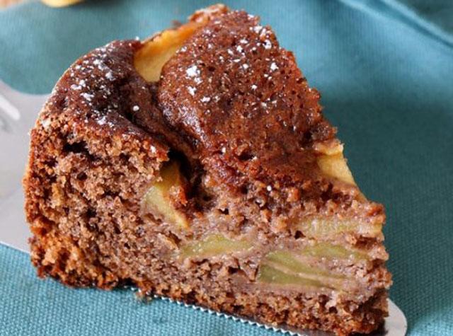 Gâteau Léger au Chocolat et Pomme WW