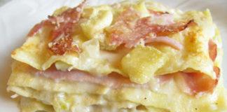 Lasagnes aux Poireaux et Jambon WW