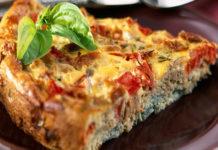 Tarte Légère au Thon et Tomates WW