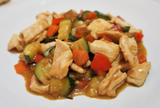 mijoté de poulet aux légumes WW