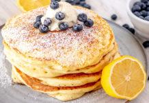 Pancakes Légers au Citron et Ricotta WW