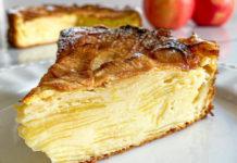 Gâteau Invisible Léger aux Pommes Fondantes WW