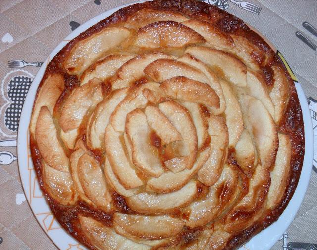 Gâteau Léger aux Pommes et Ricotta WW