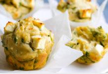 Muffins Légers aux Épinards et Feta WW