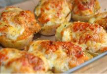 Pommes de terre farcies façon pizza WW
