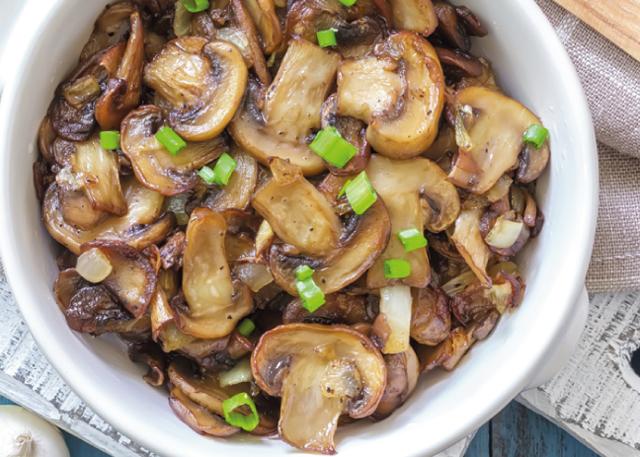 poêlée légère aux champignons WW