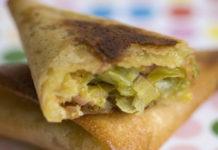 samoussas au thon et poireaux WW, de savoureux samoussas légères et croustillante à base de poireaux et de thon, facile et rapide à réaliser