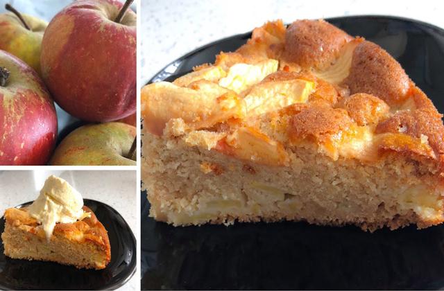 Gâteau aux Pommes Sans Farine au Thermomix