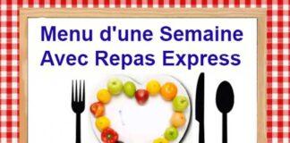 Menu d'une Semaine Avec Repas Express