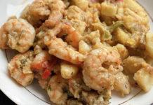 Sauté de Pomme de Terre et Crevettes WW