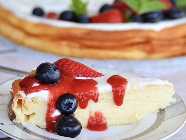 cheesecake léger à la vanille WW