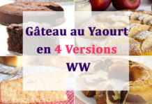 Gâteau au Yaourt en 4 Versions WW