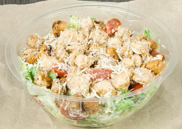 Salade César à la Sauce au Yaourt WW