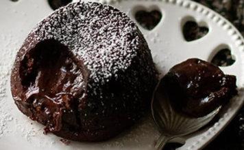 Coulant au Chocolat Sans Farine et Sans Beurre WW