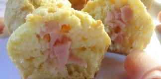 muffins aux jambon et gruyère WW
