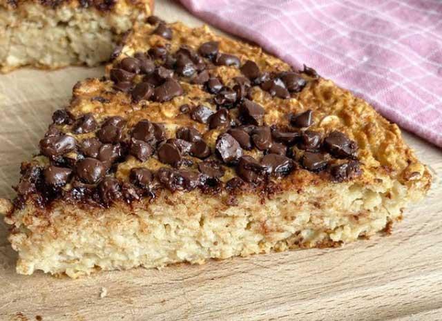 gâteau coupe-faim aux flocons d'avoine WW