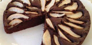 Gâteau Pommes Chocolat WW