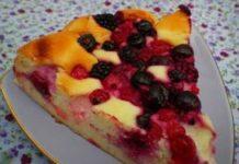 Gâteau au Fromage Blanc et Fruits Rouges WW