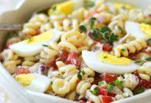 Salade de Pâtes au Thon et Mayonnaise Légère WW
