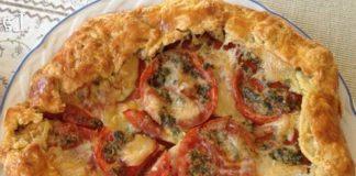 Tarte Légère aux Tomates et Chèvre Frais WW