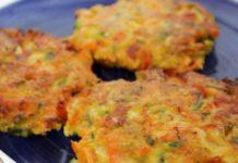 galettes légères de carottes WW