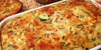 Clafoutis aux Courgettes et Mozzarella WW