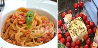 Spaghettis à la Feta et Tomates Cerises au Four WW