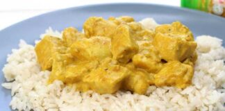 Curry de Poulet à la Crème au Thermomix