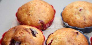 muffins aux cerises et fromage blanc WW