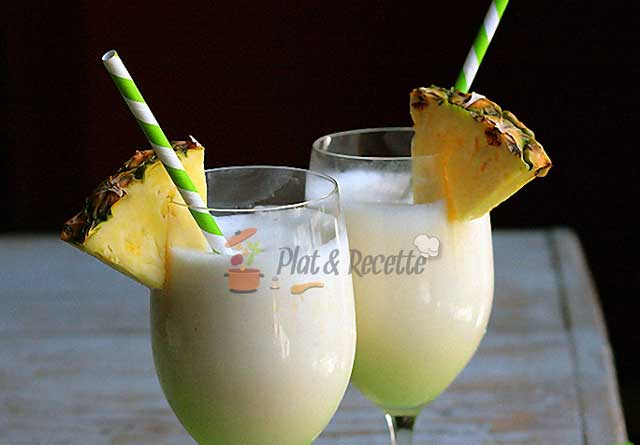pina colada allégée sans alcool WW