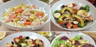 4 Recettes de Salades Légères et Minceur