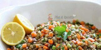 Salade Légère de Lentilles