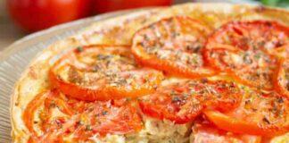 Tarte au Thon Tomate et Moutarde WW