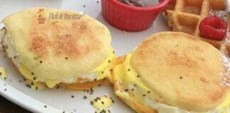 muffins anglais légers ww, de savoureux muffin anglais moelleux et légers sans matière facile et simple à réaliser.