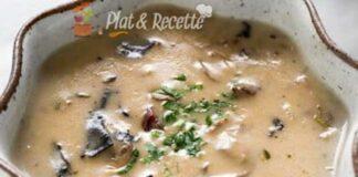 soupe légère de champignons ww