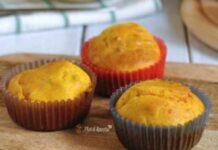 Muffins au Potiron et Lardons ww