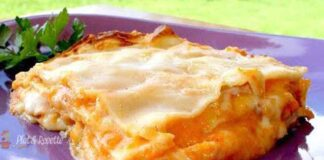 lasagnes légères au potiron ww